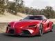 トヨタのスーパースポーツ「FT-1」、カラーHUDでドライバーの視線の動きを最小化