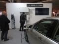 ホンダが展示したEV用普通充電器「HEH55」