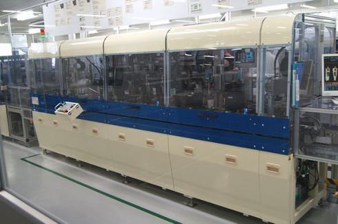 世界のどこでも量産に成功しなかった吸気圧センサー製造ライン