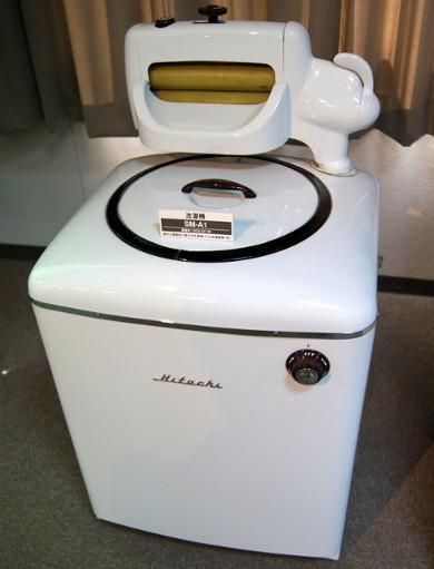 全てを自力開発、1952年の日立製第1号洗濯機「SM-A1」