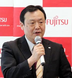 富士通 統合商品戦略本部長 兼 ソーシャルクラウドサービス本部長の阪井洋之氏