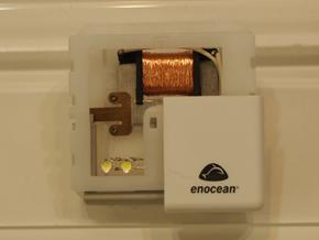 EnOcean対応のスイッチモジュール