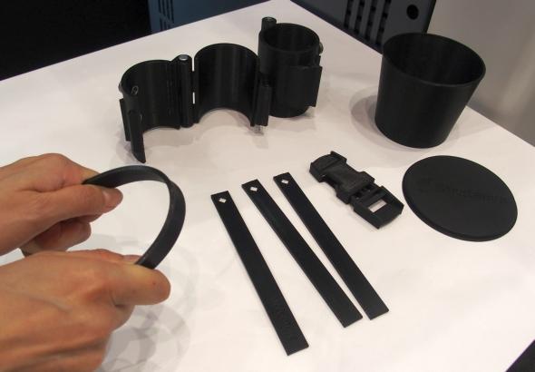 「FDM Nylon 12」を使った造形サンプル