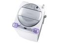 東芝が販売した洗濯乾燥機の機種名の記載位置