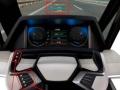 「簡単操作インタフェース」の機能を示すために試作した運転席型プロトタイプ
