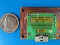 マイクロ波で制御する超小型電力変換システムの試作モジュール