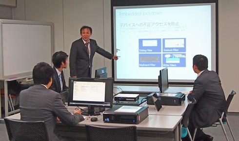 Windows Embedded Standard トレーニング