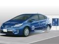 トヨタ自動車のワイヤレス充電システムのイメージ