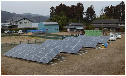 農業用充電ステーションの外観