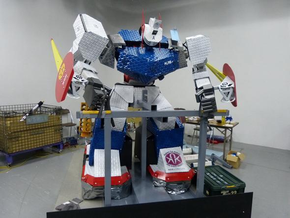 優勝した「HJM-47」(はじめ研究所チーム)