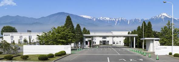 長野県安曇野市にある長野テクノロジーサイト