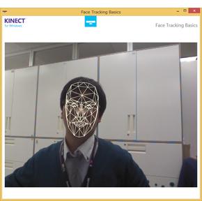 Kinect for Windowsのフェイストラッキング