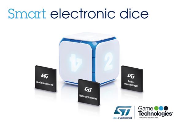 Game Technologiesが開発した電子サイコロ「DICE+」
