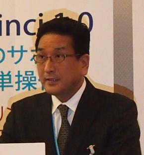 XYZプリンティングジャパン ゼネラルマネージャーの吉井宏之氏