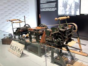 オークマの創業初期の製品である製麺機