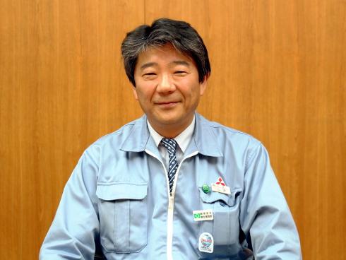 三菱電機 名古屋製作所の所長を務める山本雅之氏