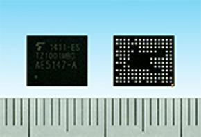 ウェアラブル端末向けアプリケーションプロセッサ「TZ1001MBG」