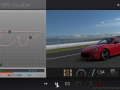 「グランツーリスモ6」の「GPSビジュアライザー」の画面