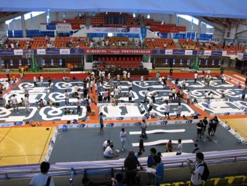 「フリースケール・カップ」中国大会予選の様子