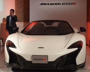 「650S スパイダー」とマクラーレン・オートモーティブのカルロ・デラ・カーサ氏