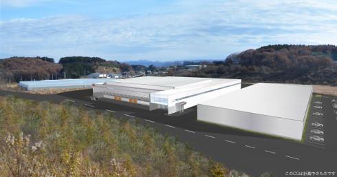 新工場のイメージ図