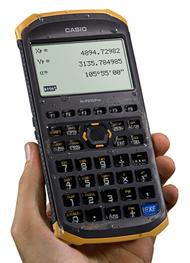 土木測量専業電卓「fx-FD10 Pro」