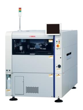 ヤマハ発動機の小型クリームはんだ印刷機「YCP10」
