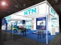 NTNの「人とくるまのテクノロジー展2014」のブースイメージ