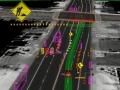 マウンテンビューの市街地で実証実験中のグーグルの自動運転車
