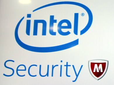 Intel Securityロゴ