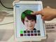 美容師が認める「ヘアカラーシミュレーター」を参考展示、東芝情報システム