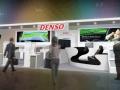 デンソーの「人とくるまのテクノロジー展2014」のブースイメージ