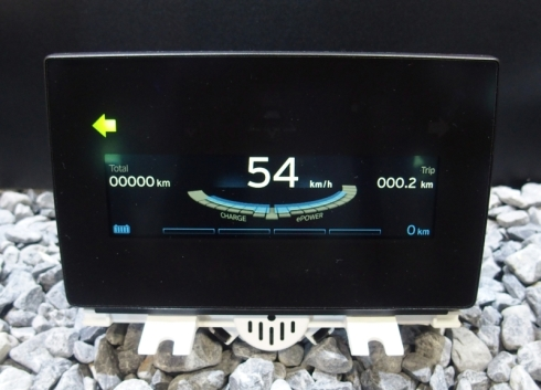 BMWの電気自動車「i3」のディスプレイメーター