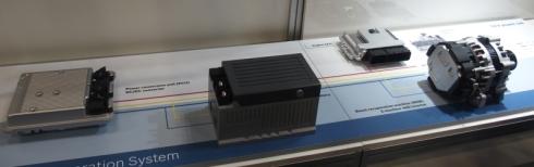 ボッシュの48Vハイブリッドシステム