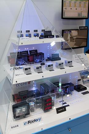 インテルと三菱電機の協業による製造工場向けソリューション「e-F@ctory」