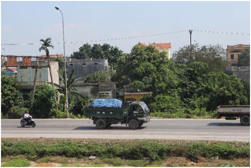 タイの高速道路の様子