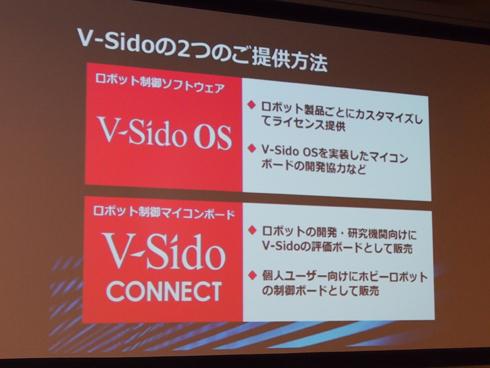 V-Sidoの提供方法