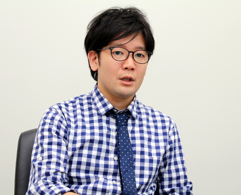 ジェイアイエヌ R&D室 マネージャーの、井上一鷹氏