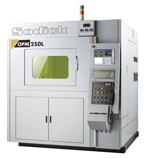 ワンプロセスミーリング加工を実現するリニアモータ駆動の金属3Dプリンタ「OPM250L」