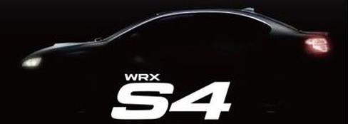 「WRX S4」のシルエット
