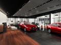 マツダの「新世代店舗」のイメージ