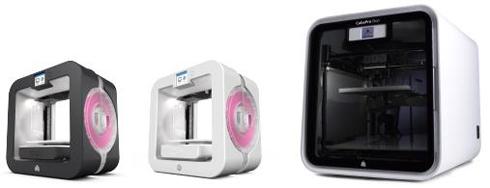 「Cube 3rd generation」と「CubePro」シリーズ