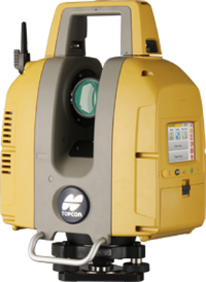 トプコンの3Dレーザースキャナー「GLS-2000」