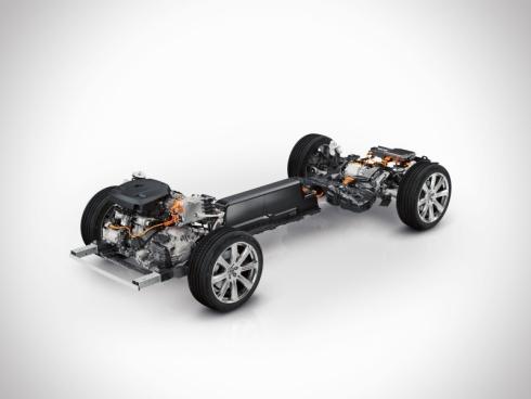 新型「XC90」の「Twin Engine」