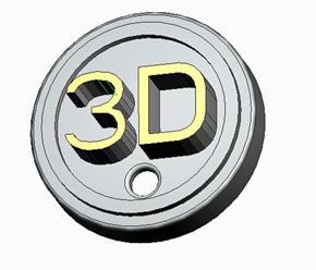 3Dマグネット