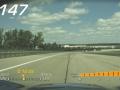 「バレーモード」で録画したオンボード映像