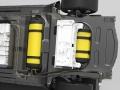 「東京モーターショー2013」に出展した燃料電池車のコンセプトカー「TOYOTA FCV CONCEPT」のカットモデル