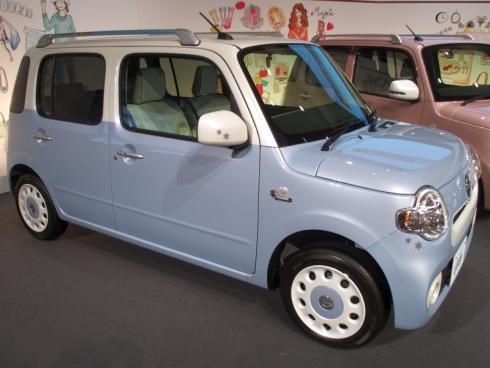 「ミラ ココア」の北海道の地域限定特別仕様車「雪ミク ココア」