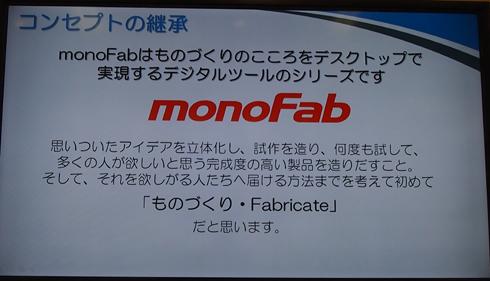 「monoFab(モノファブ)」のコンセプトについて