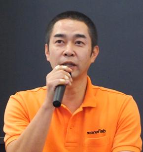 ARM-10の開発リーダーを務めたローランドDG 大草圭吾氏